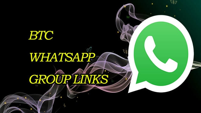 New BTC WhatsApp Group Links! Join BTC Whatsapp Groups