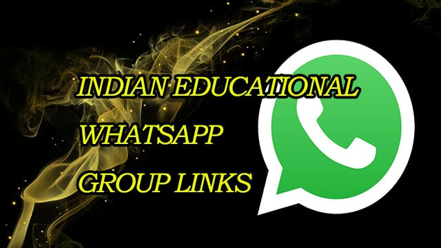 New Indian Educational WhatsApp Group Links - MERA ONLINE WORLD