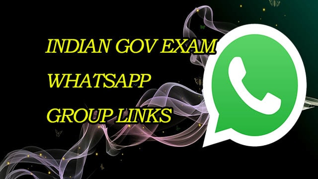 New Indian Gov Exam WhatsApp Group Links - MERA ONLINE WORLD
