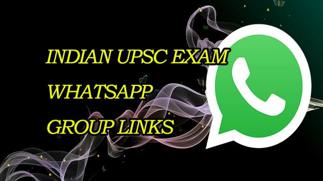 New Indian UPSC Exam WhatsApp Group Links - MERA ONLINE WORLD