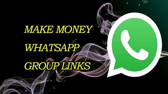 New Make Money WhatsApp Group Links - MERA ONLINE WORLD