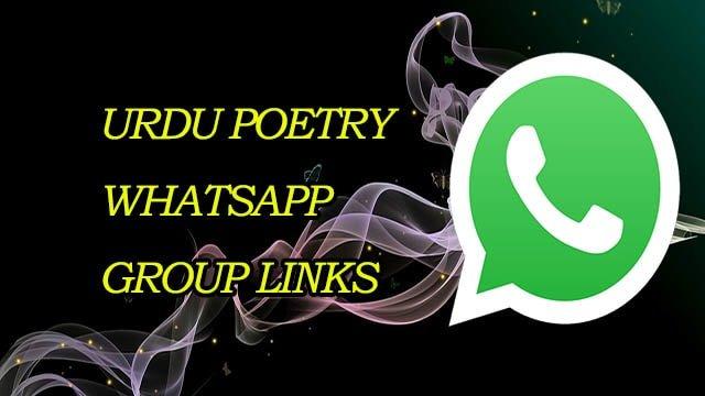New Urdu Poetry WhatsApp Group Links! Join Urdu Poetry