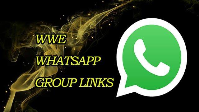 New WWE WhatsApp Group Links! Join WWE Whatsapp Group