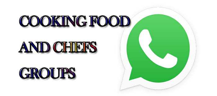 Cooking Food And Chefs WhatsApp Group Links! MERA ONLINE WORLD