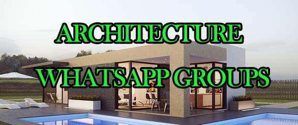 New Architecture WhatsApp Group Links - MERA ONLINE WORLD
