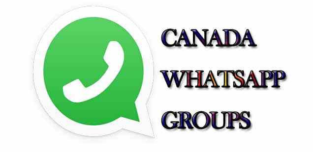 Latest Canada WhatsApp Group Links - MERA ONLINE WORLD