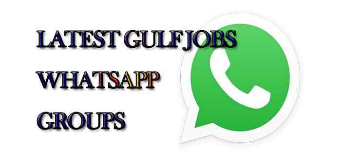 Latest Gulf Jobs WhatsApp Group Links - MERA ONLINE WORLD