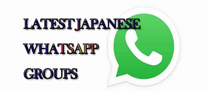 Latest Japanese WhatsApp Group Links - MERA ONLINE WORLD