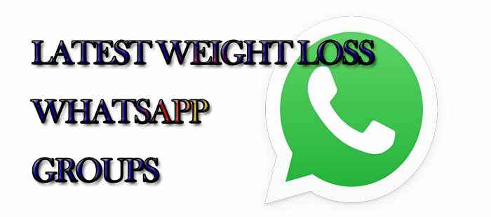 Latest Weight Loss WhatsApp Group Links - MERA ONLINE WORLD