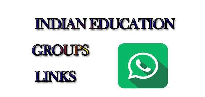 Indian Education WhatsApp Group Links - MERA ONLINE WORLD